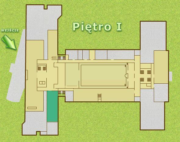Czytelnia Pracowników Nauki zlokalizowana jest na pierwszym piętrze w nowym gmachu, od windy lub schodów proszę skierować się na prawo i przejść kilkanaście kroków do wejścia